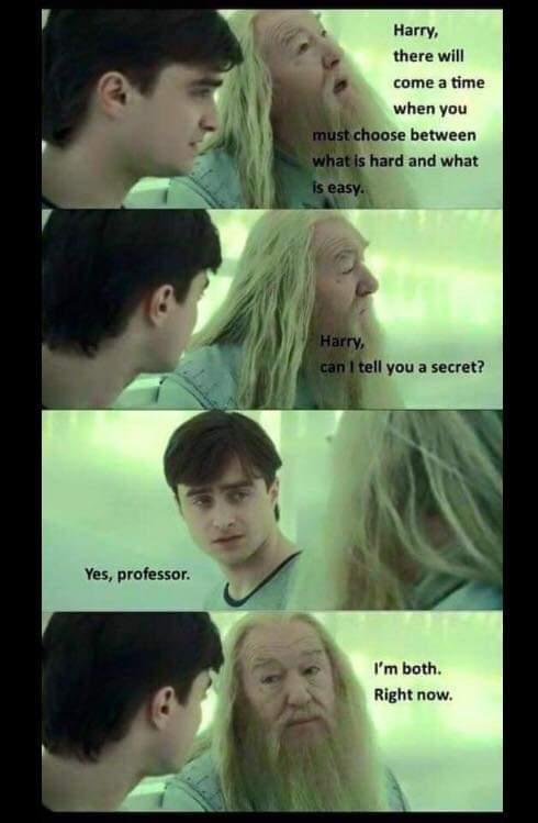 Run Harry - meme
