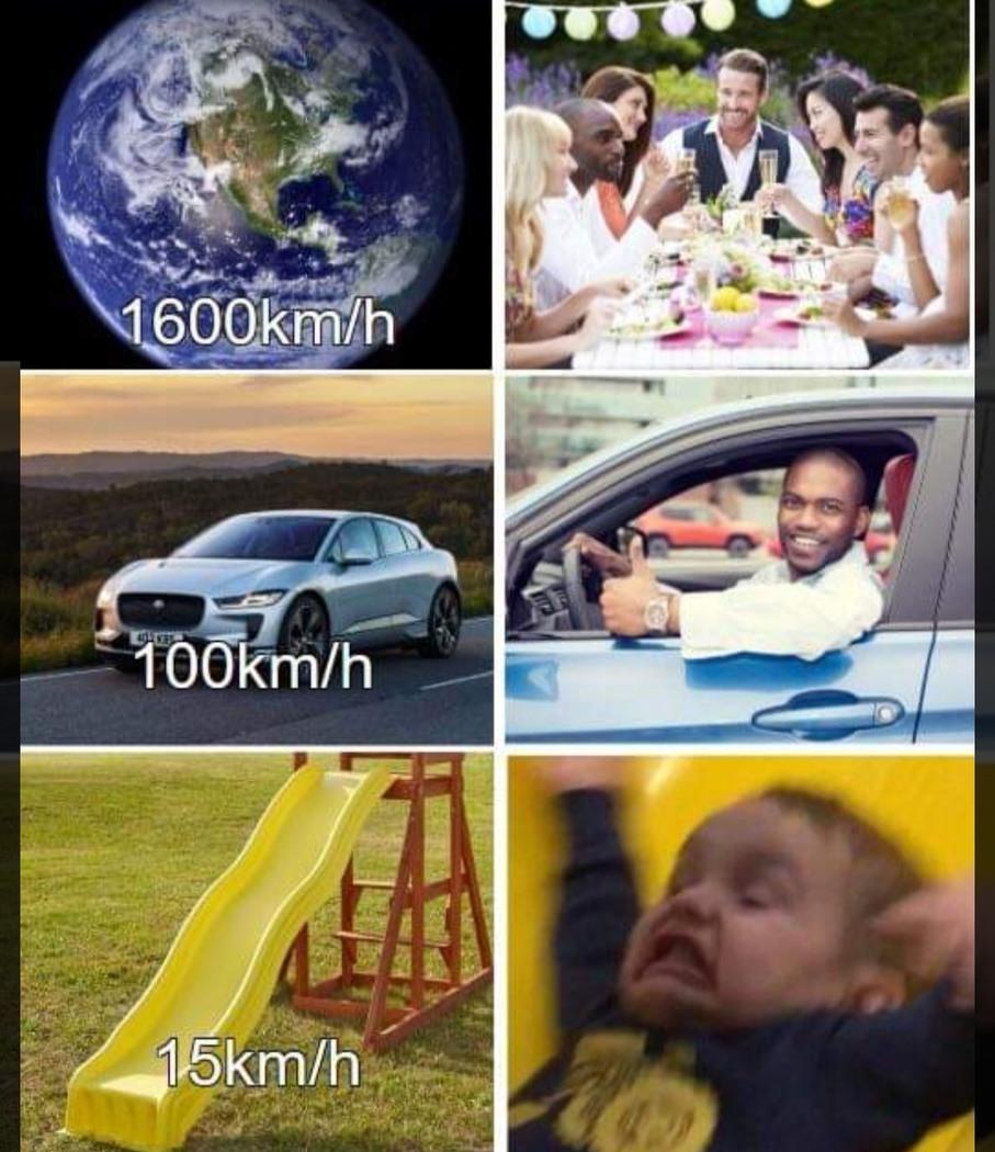 Que velocidad - meme