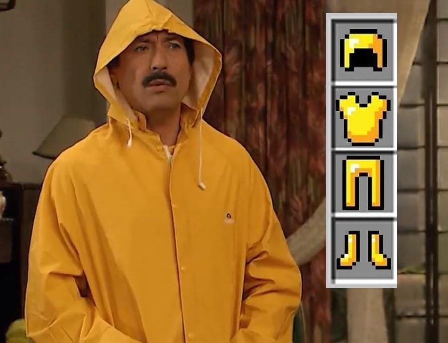 Full Gold Papucho - meme