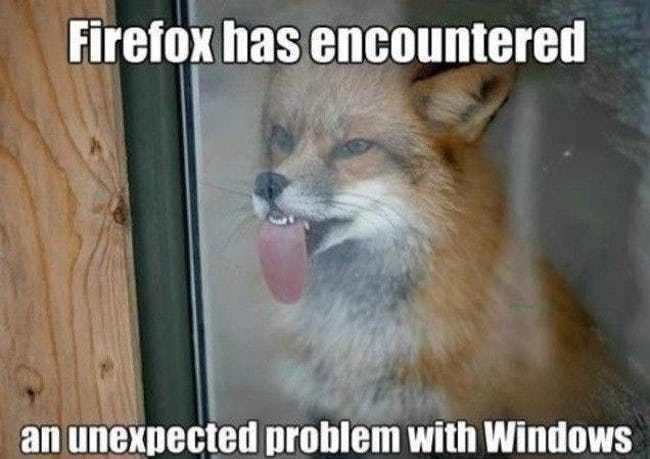 Use internet explorer - meme