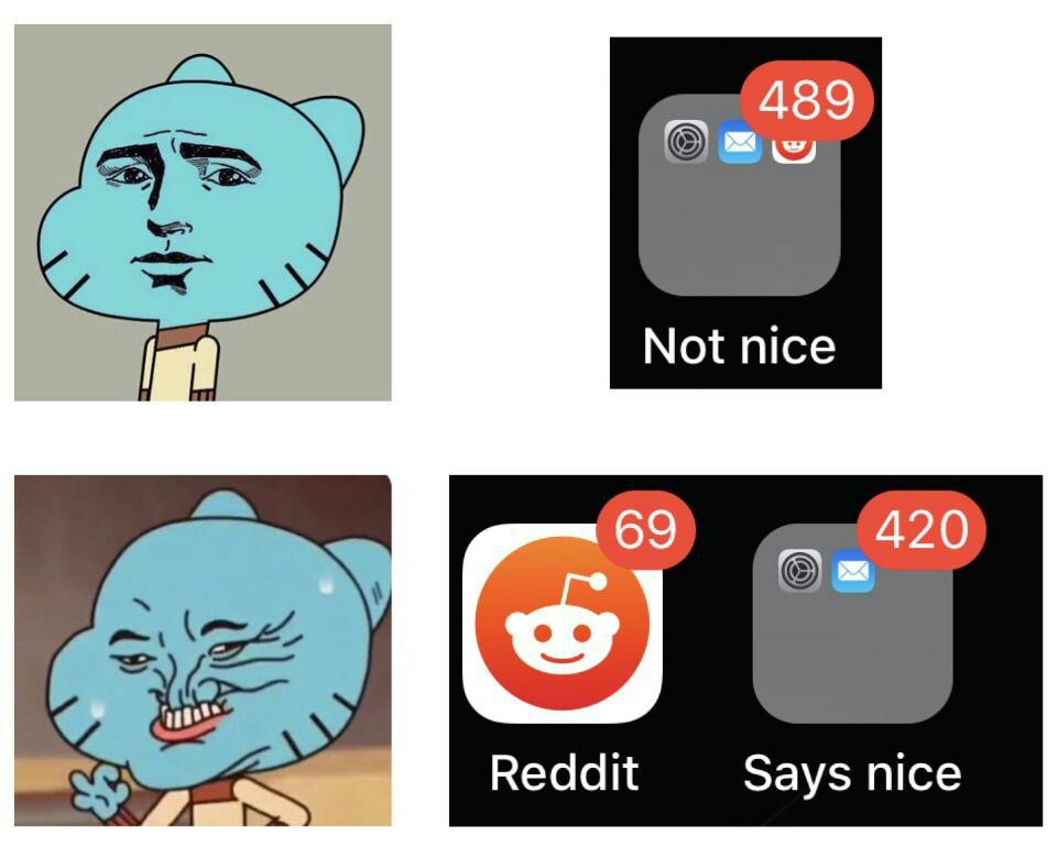 Nice as rice on ice - meme
