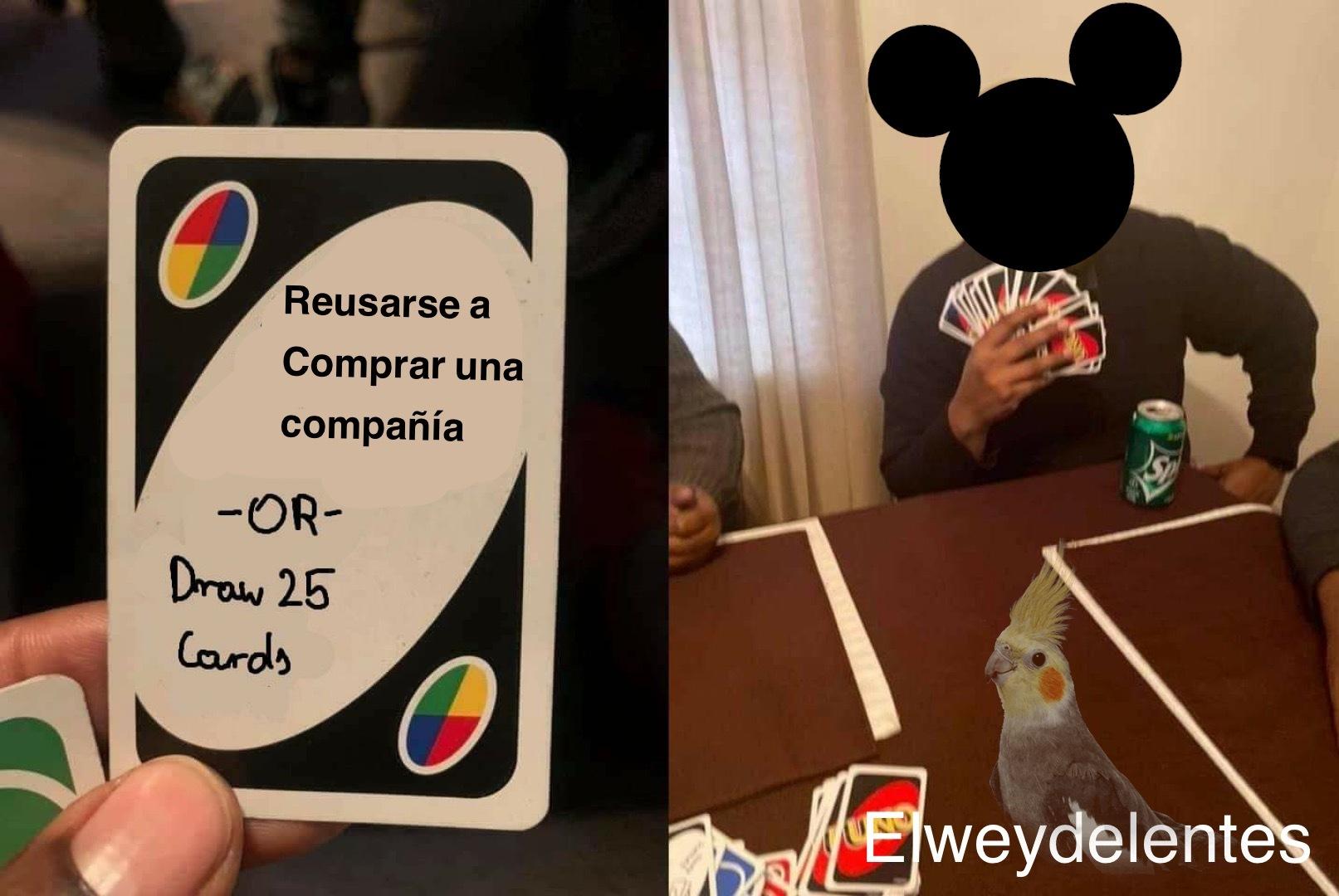 > : / maldito y millonario Disney - meme