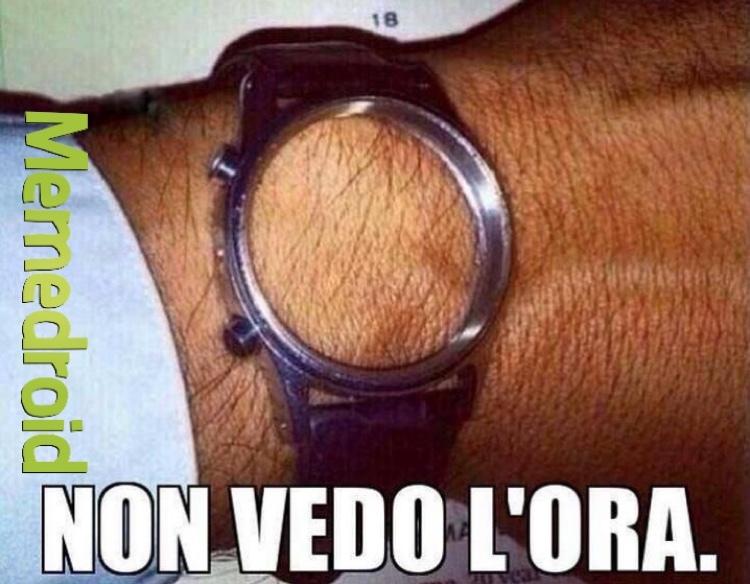 Mh... Che ore sono? - meme