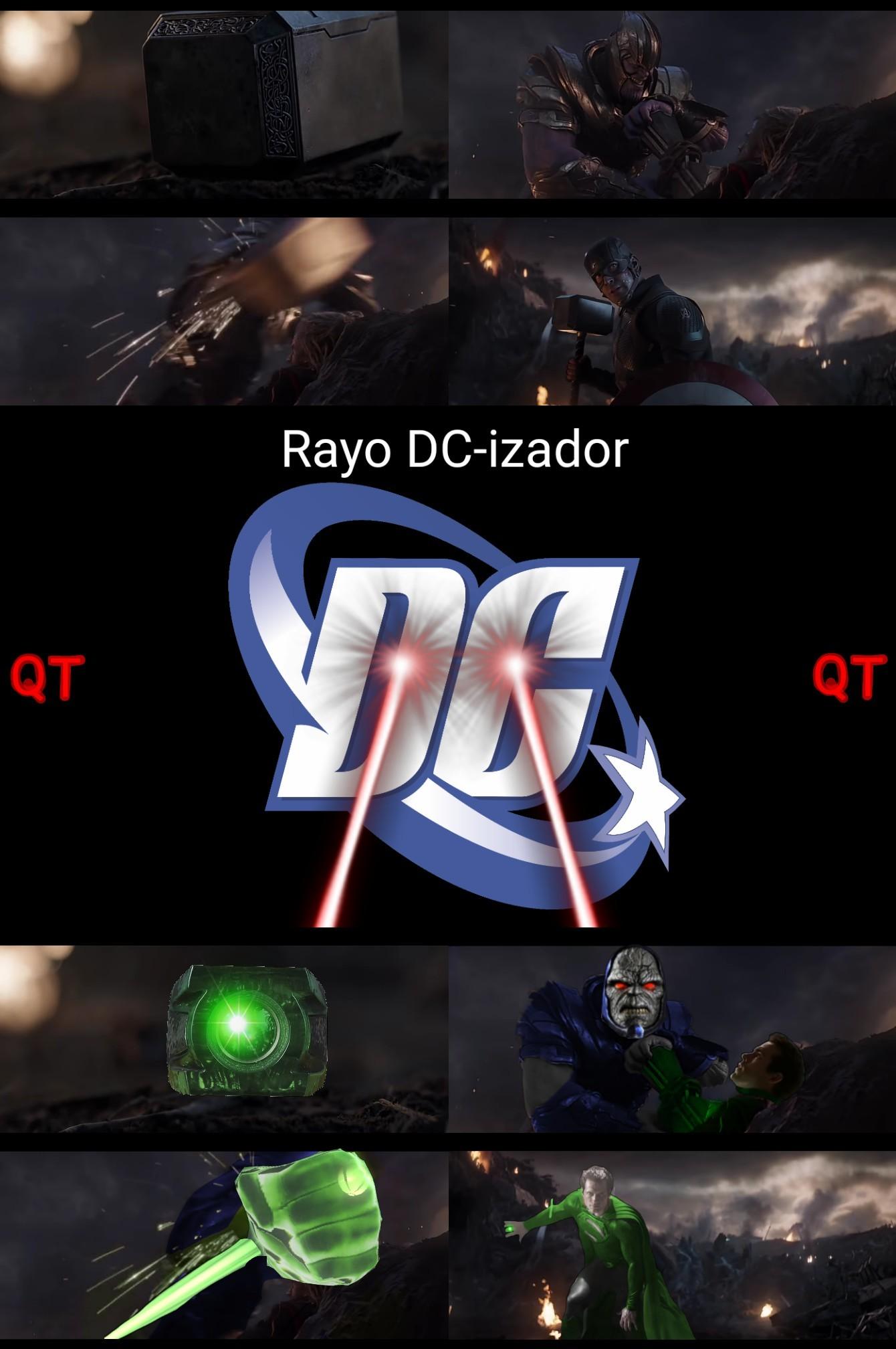 Rayo DC izador 2 - meme