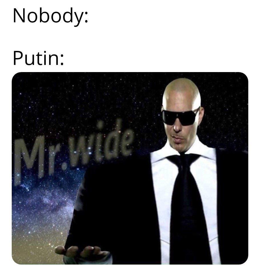 Wide putin - meme