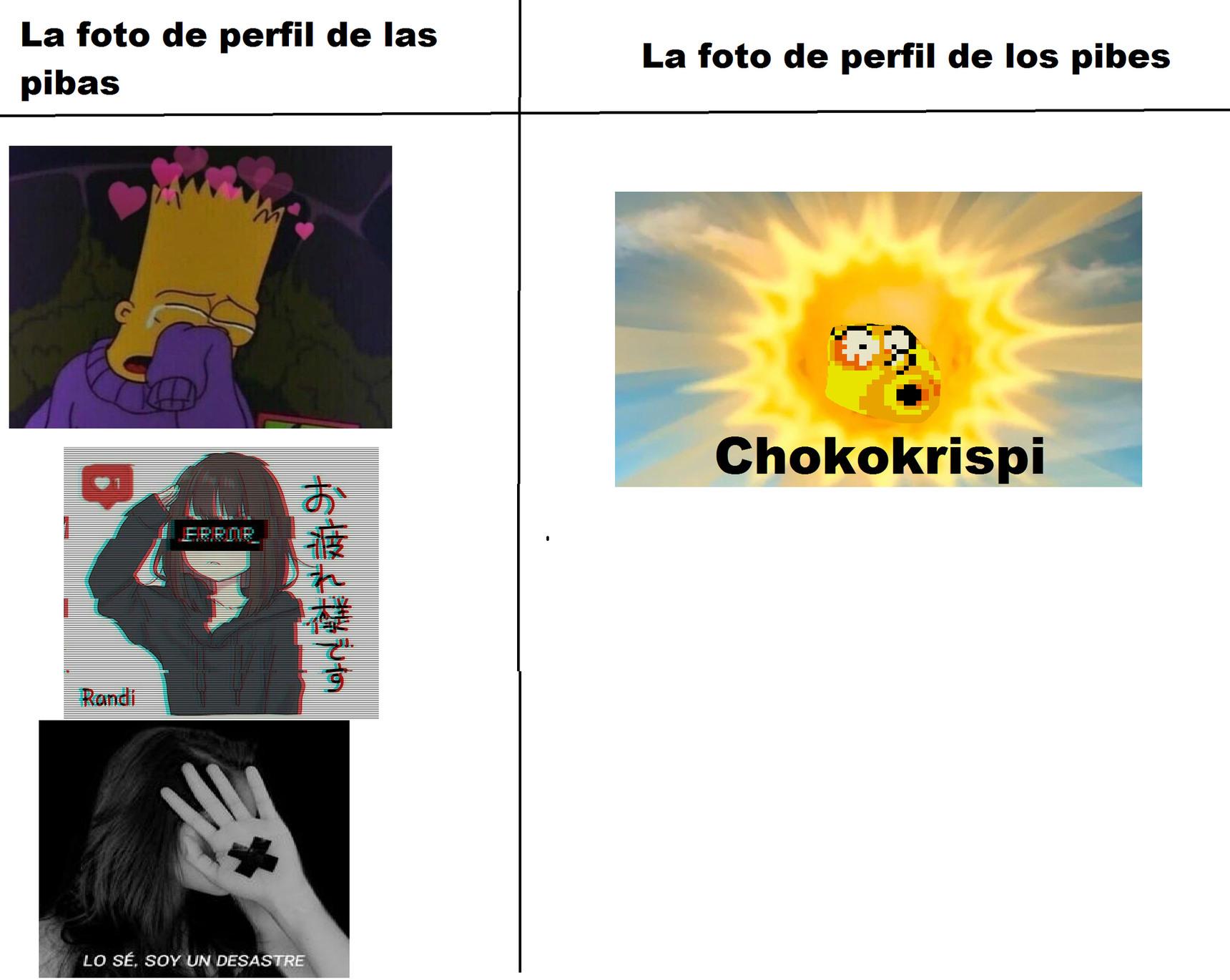 Chokokrispi - meme