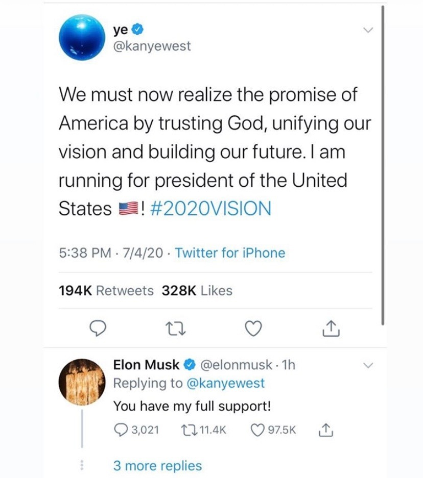 You think Elon will be the vp - meme