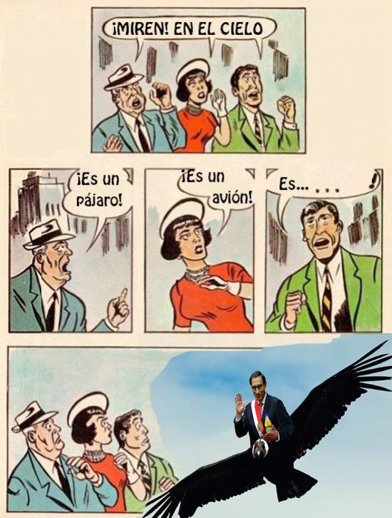 vizcarra condor - meme