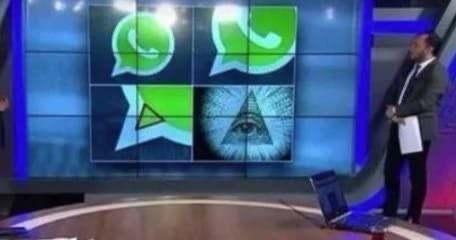 WhatsApp que não te contaram - meme