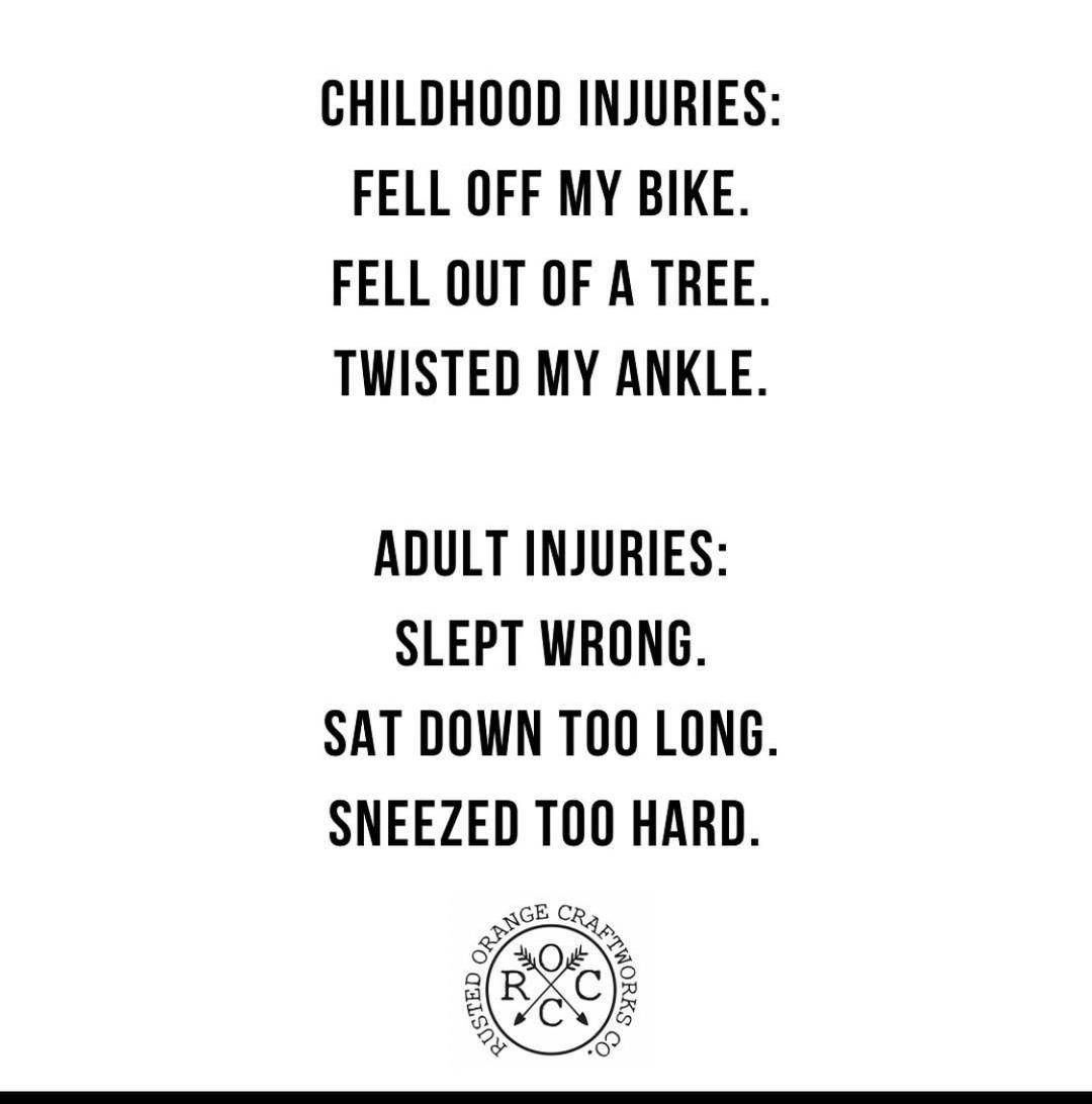adult problems - meme