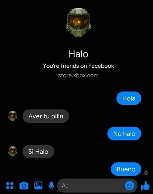 nOoOoOooo halo PoRque - meme