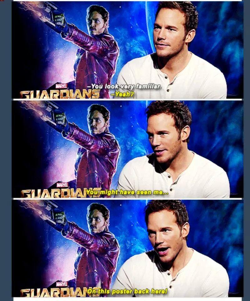 Chriss Pratt, ladies and gentlemen. - meme