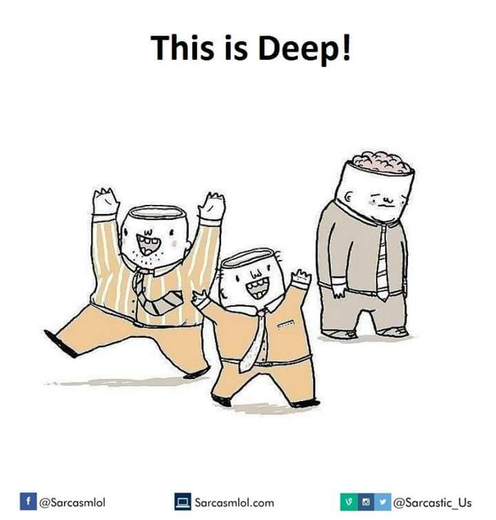 So deep... - meme