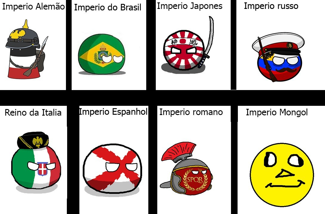 Imperio passados - meme