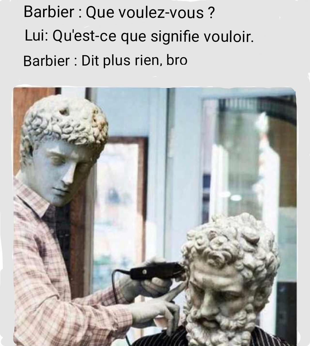 L'art de la sculpture romaine ! Que de plaisir - meme