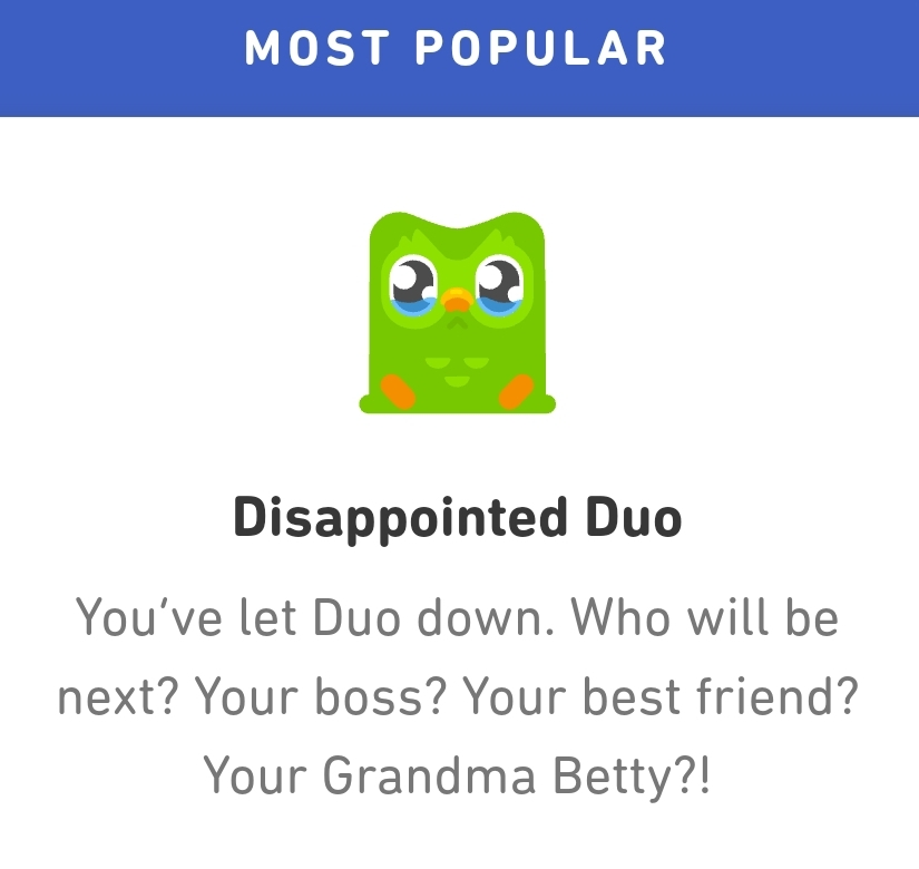 Grandma Betty, no! - meme