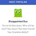 Grandma Betty, no!