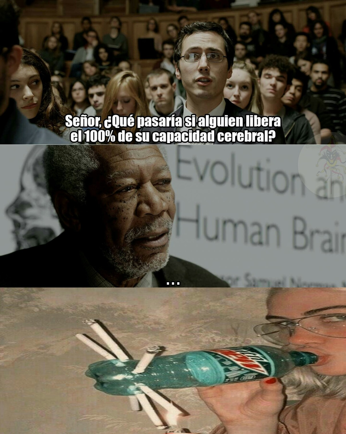 Inteligente ¿no? - meme
