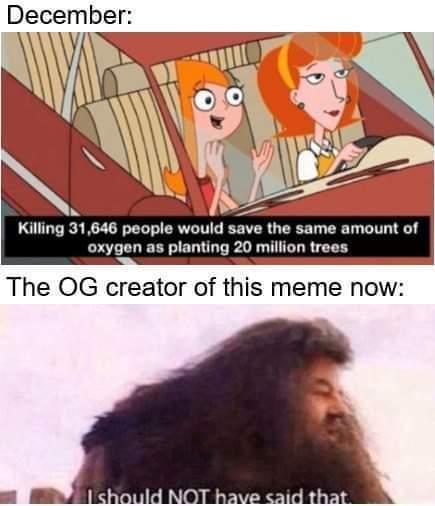Hagrid, you crazy, bruh - meme
