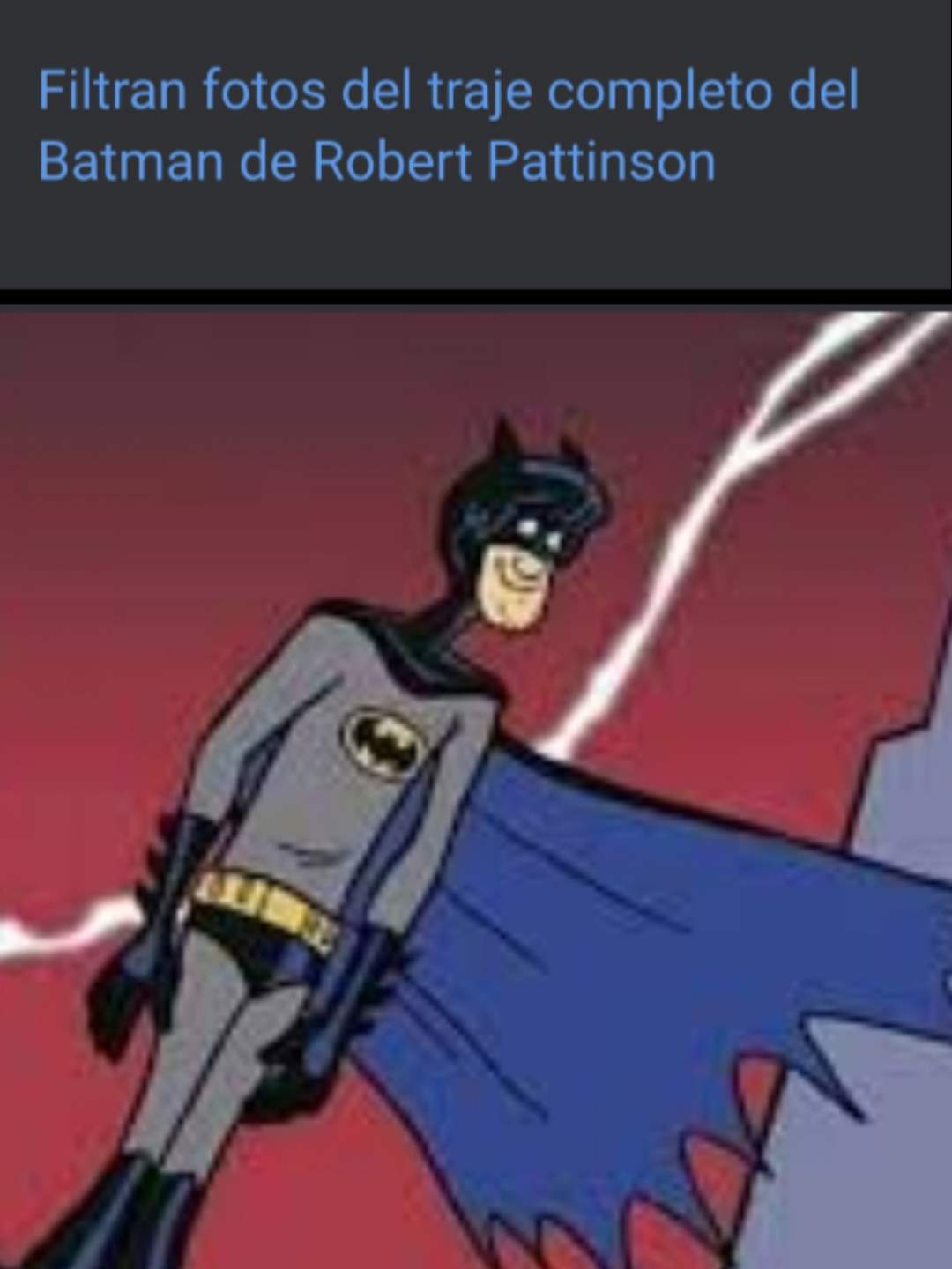 The batman - meme