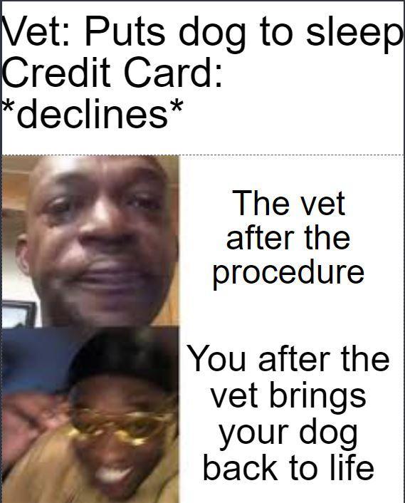 Credit Card - meme