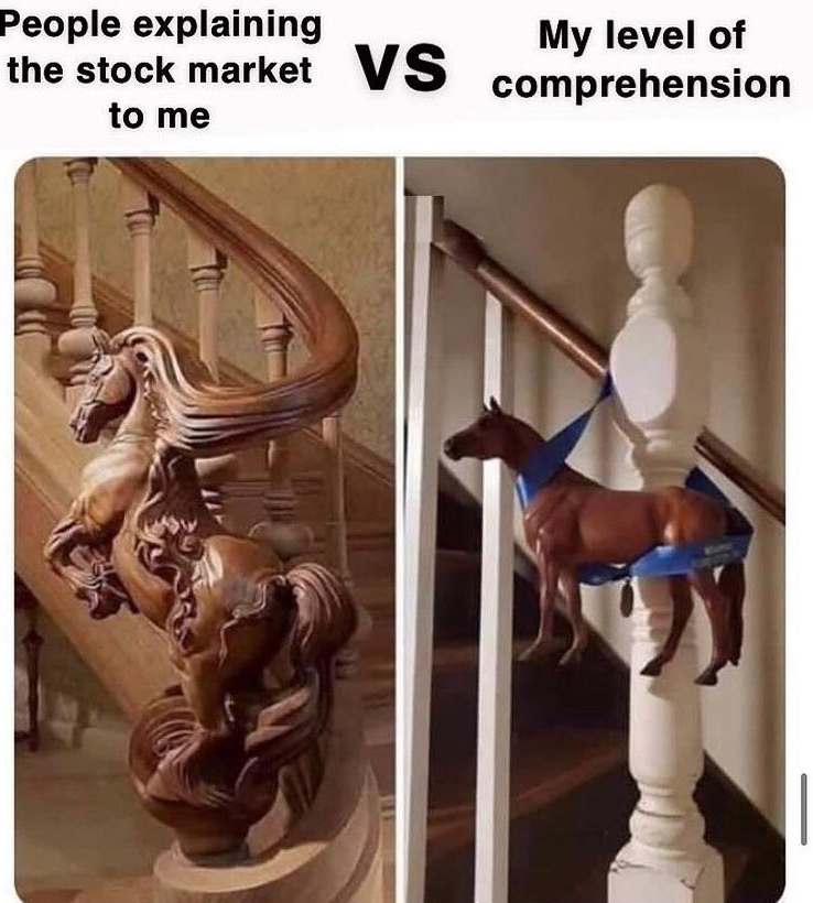 buy low sell high? - meme