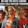 telling people to be less white is coke trying to sell more sprite and fanta