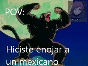 Le se al pov?  Para los ardidos yo también soy mexichango - meme