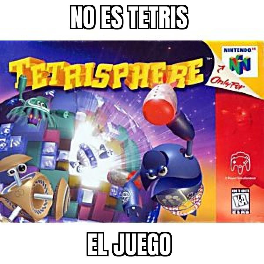 No parece Tetris - meme