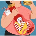 this is what McDonalds does to you :truehistory: