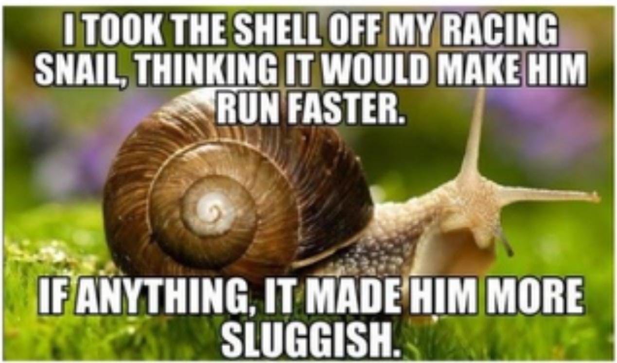 don't be slow bro - meme