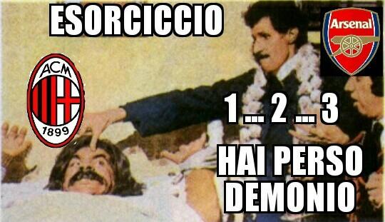 Milan fuori dall' Europa - meme
