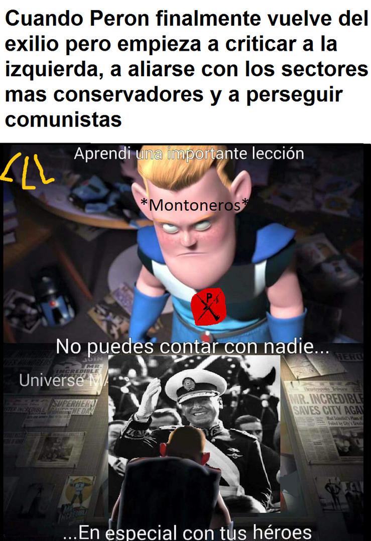 Historia argentina - meme