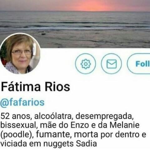 Calma Dona Fátima - meme