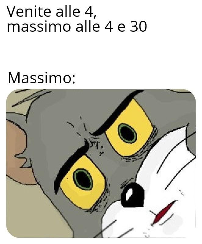 Cito Massimo che mi siegue siemprue - meme