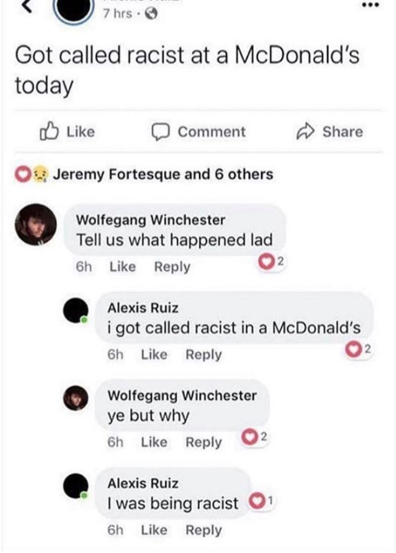 porque tem negros fazendo meu hamburguer? - meme