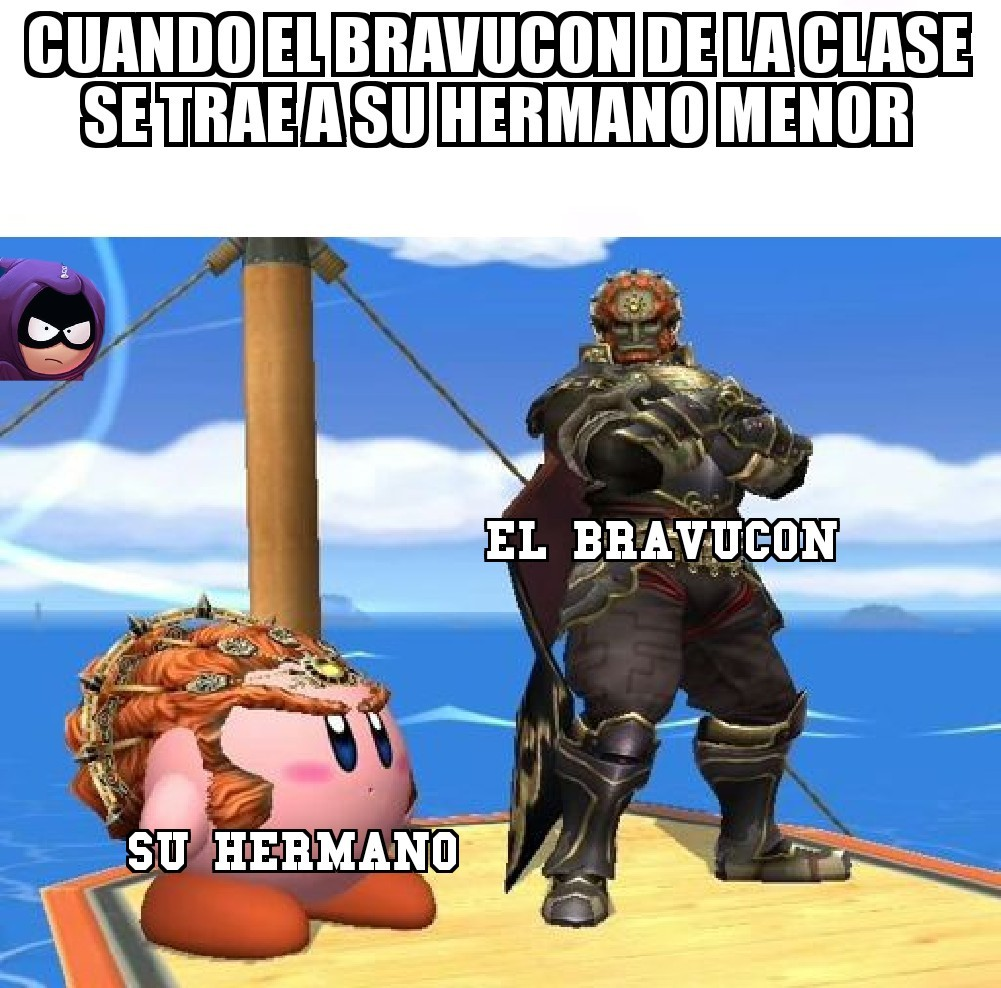 mi smash bros favorito es el brawl - meme