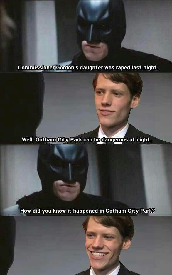 #BatmanButtman - meme