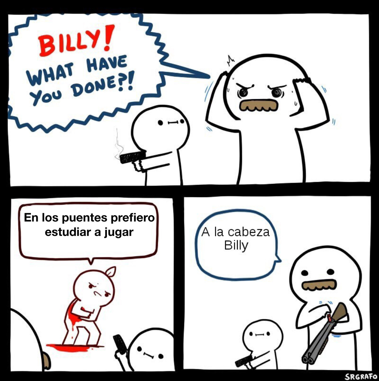 BILLY NO LO HAGAS - meme