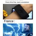 Des scientifiques  invente un bracelet qui donne un électrochoc a chaque fois que le porteur commence une révolution