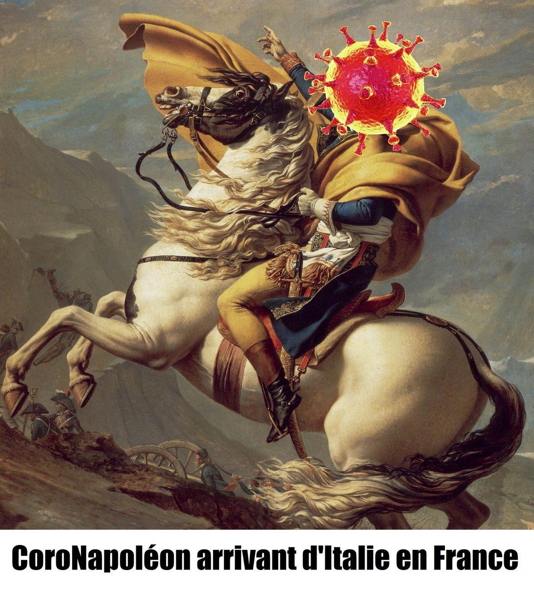 CoroNapoléon arrive - meme