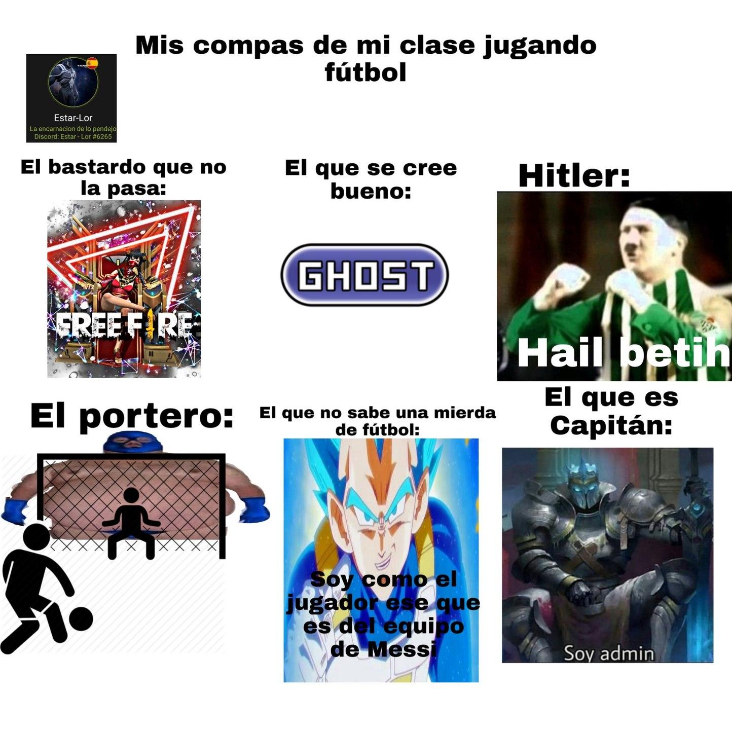 """""""Puto gordo tapas toda la portería"""" - meme"""