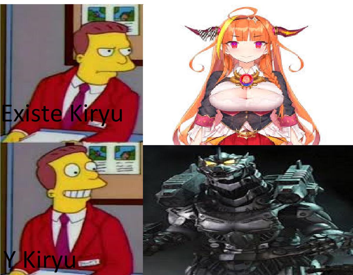 De los mejores Mechas de Godzilla - meme