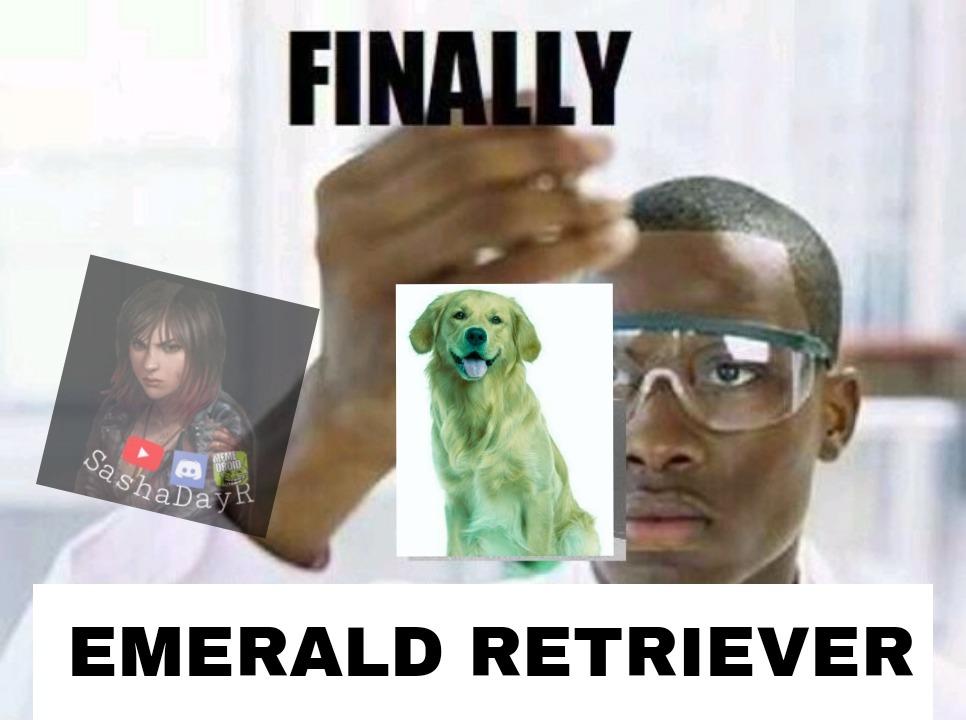 *Inserte título de esmeralda* - meme
