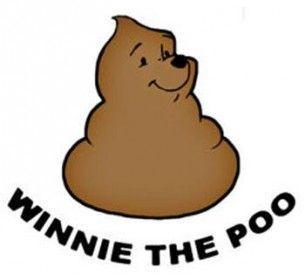 Winnie the poop  - meme