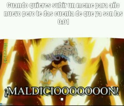 Maldicion! - meme