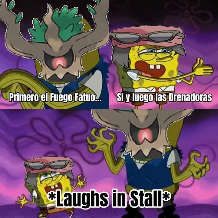 Stall - meme