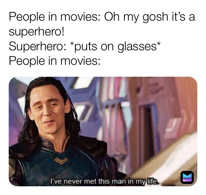 superhero - meme