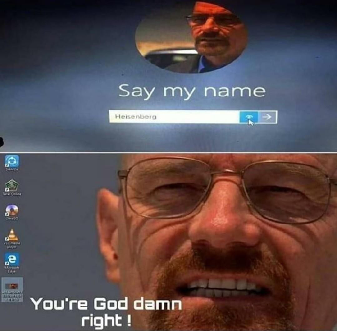 Di mi nombre - meme