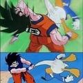 Goku vs Big Dick Duck